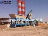 三联机械YHZS50移动式混凝土搅拌站