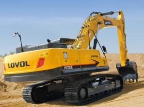 雷沃重工FR370E挖掘机高清图 - 外观