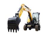 三一重工SY65W轮胎式液压挖掘机高清图 - 外观