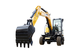 三一重工SY65W轮式挖掘机
