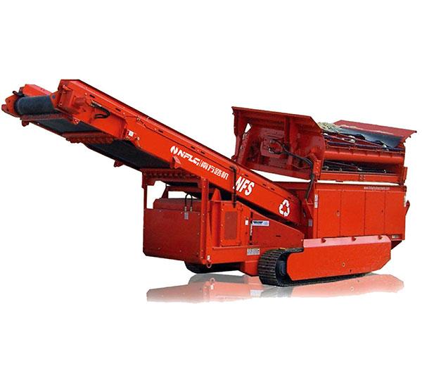 南方路机NFS150履带移动重型格筛设备高清图 - 外观