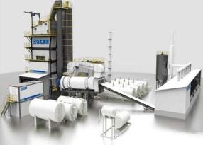 徐工XAP320H环保型沥青混合料搅拌设备