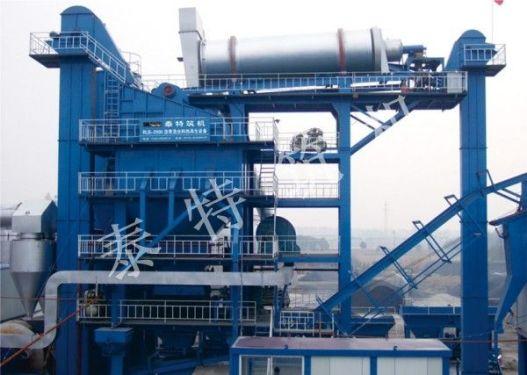 無錫泰特RLB-2000熱再生瀝青攪拌設備