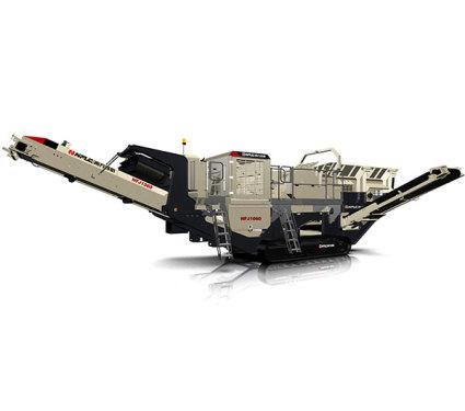 南方路机NFJ1060履带移动颚式破碎站