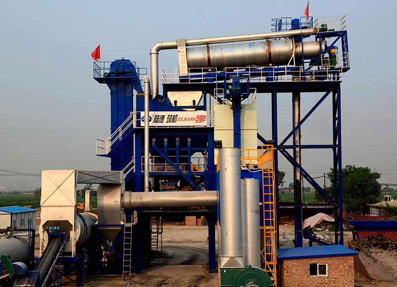 陆德ZLBS80上置式厂拌热再生高清图 - 外观