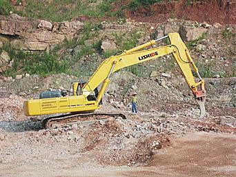 力士德SC450.8LC松土型挖掘机
