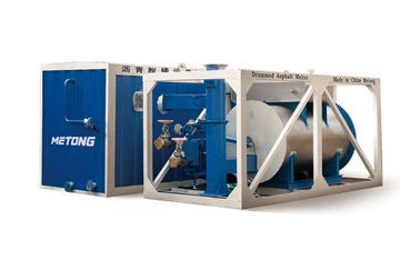 美通筑机DJT4液压沥青脱桶设备