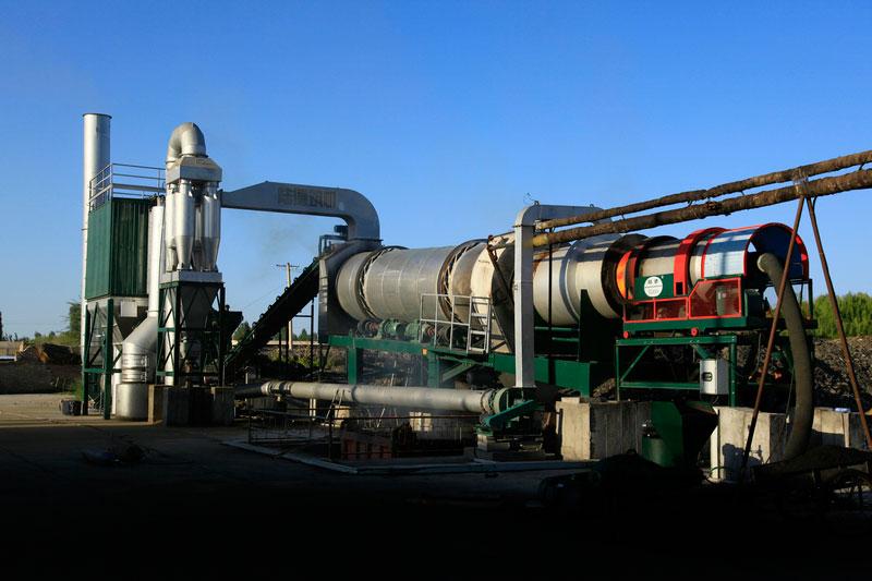 陆德LZG15下置式厂拌热再生高清图 - 外观