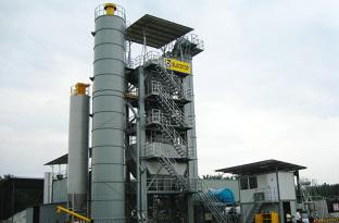 陆德LDX175强制式沥青混合料搅拌设备