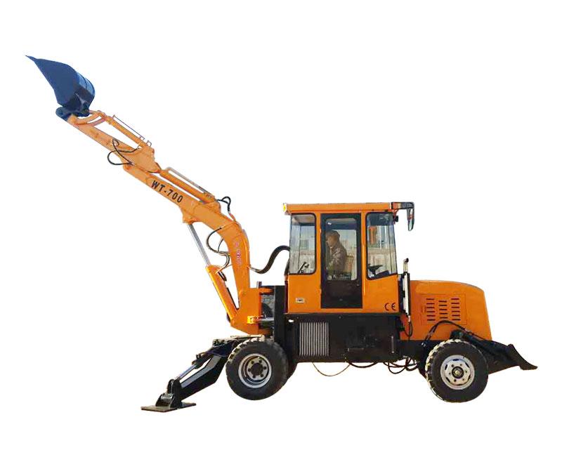 全工WT-700挖掘机高清图 - 外观