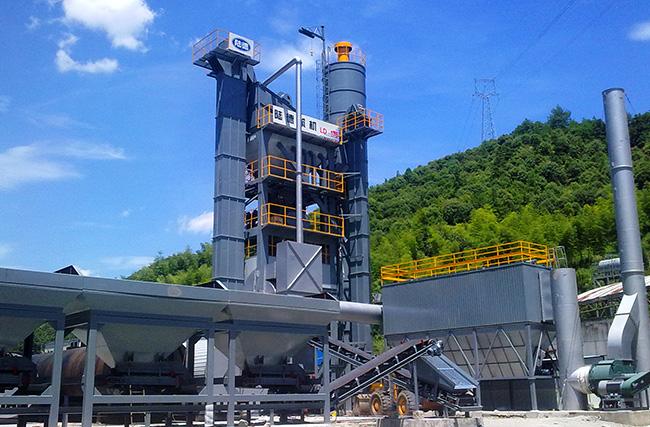 陆德LD175C沥青混合料搅拌设备高清图 - 外观