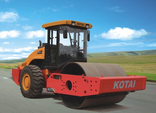 科泰重工KS266H-2单钢轮压路机