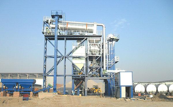 陆德ZLBS60上置式厂拌热再生高清图 - 外观