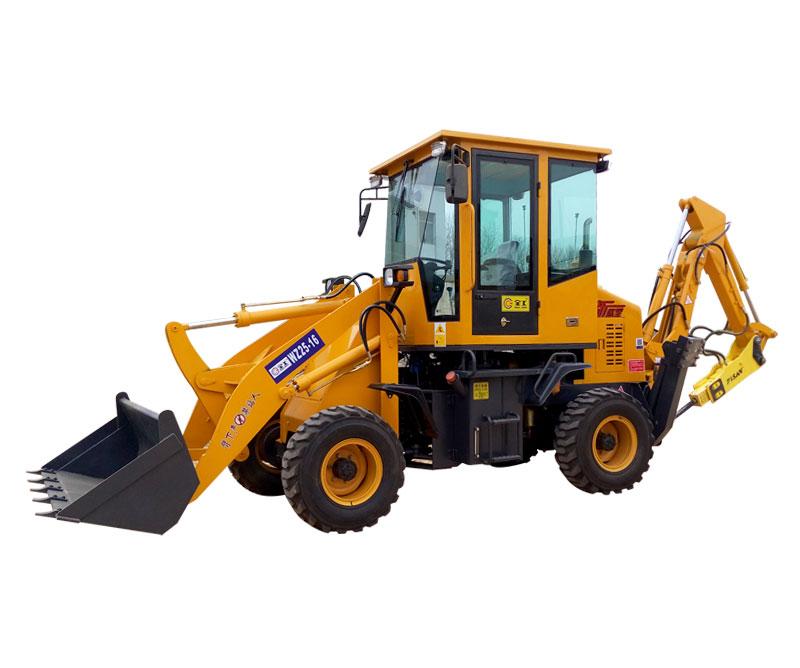 全工WZ25-16Y挖掘装载机高清图 - 外观