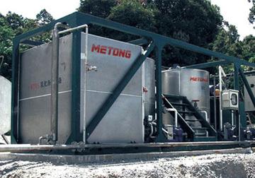 美通筑机MTR10改性乳化沥青设备