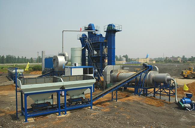 陆德ZLB60下置式厂拌热再生高清图 - 外观