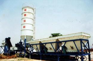 陆德WCB300B稳定土厂拌设备