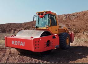 科泰重工KS366HD单钢轮压路机(双驱)