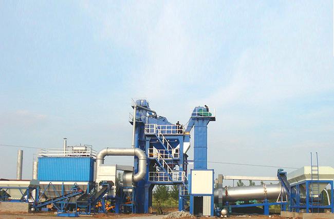 陆德ZLB120下置式厂拌热再生高清图 - 外观