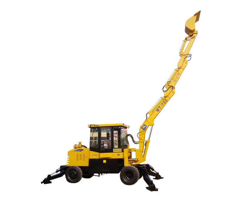 全工加长臂式挖掘机高清图 - 外观