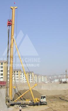 三力机械CFG28米长螺旋钻机