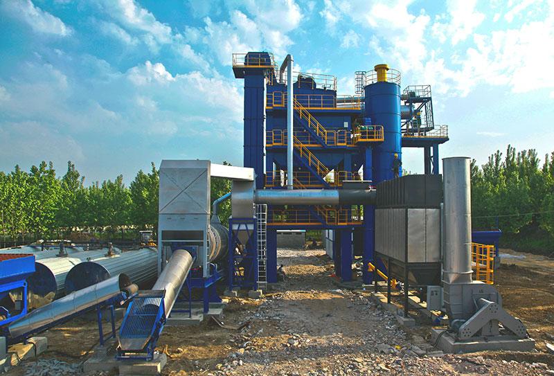 陆德ZLBS120上置式厂拌热再生高清图 - 外观