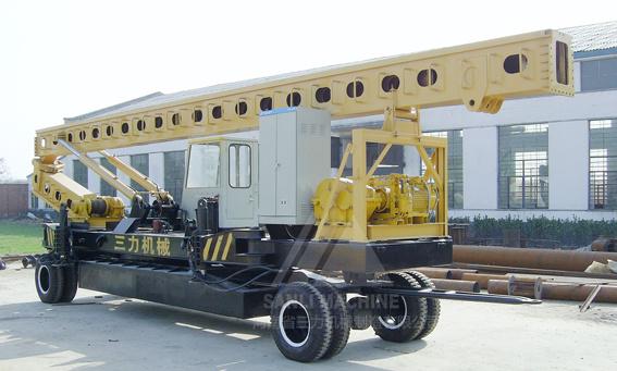 三力机械CFGHR35全液压长螺旋旋挖钻机