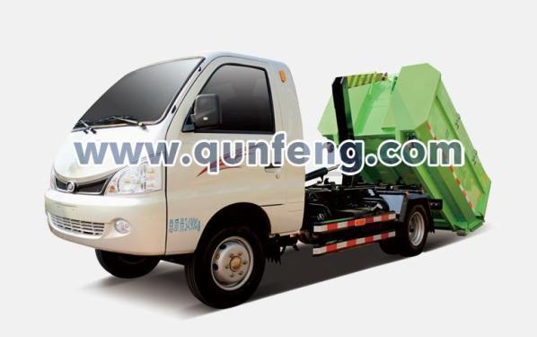 群峰机械MQF5032ZXXH4车厢可卸式垃圾车