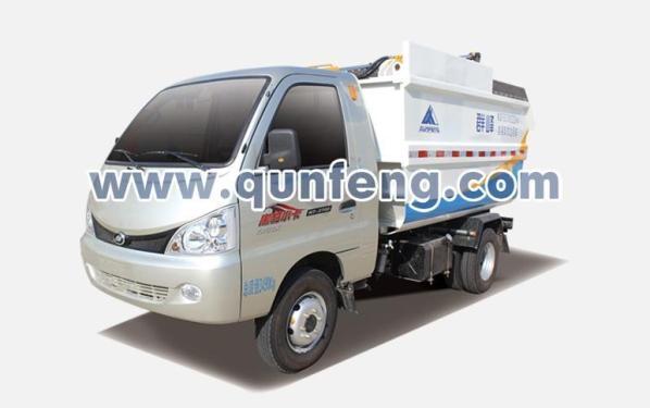 群峰机械MQF5040ZZZF5自装卸式垃圾车