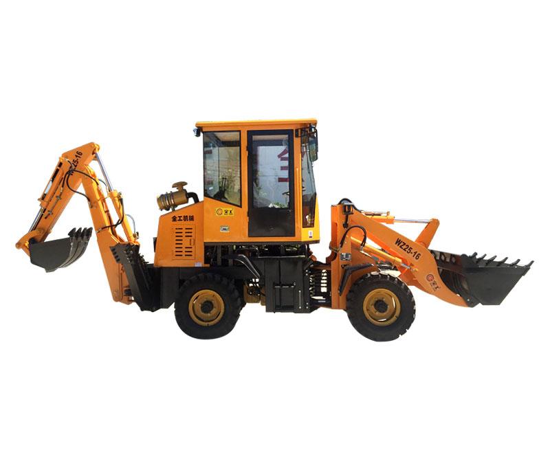 全工WZ25-16挖掘装载机高清图 - 外观