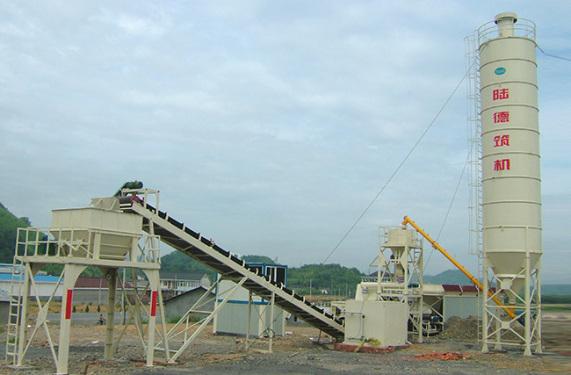 陆德WCBD500B稳定土厂拌设备