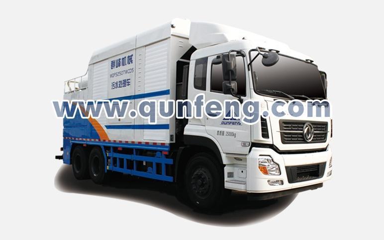 群峰智能MQF5250TWCD5污水处理车高清图 - 外观