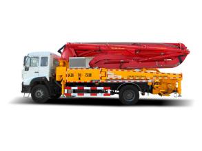 普光37米单桥泵车高清图 - 外观