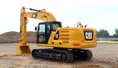 卡特彼勒新一代Cat?320 GC液压挖掘机高清图 - 外观