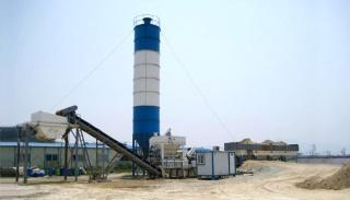 三隆重工MWCB300模块式稳定土搅拌站
