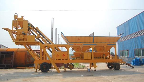 三隆重工YHZS75移动式混凝土搅拌站