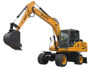 恒特HT135W轮式挖掘机轮式挖掘机高清图 - 外观