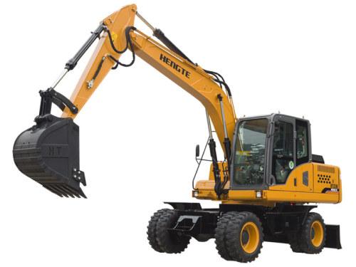 恒特HT135W轮式挖掘机轮式挖掘机
