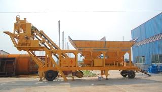 三隆重工YHZD25移动式混凝土搅拌站