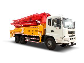 普光37米双桥泵车高清图 - 外观