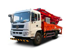 普光33米泵车高清图 - 外观