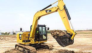 卡特彼勒308E2迷你型液压挖掘机