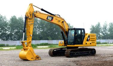 卡特彼勒新一代Cat®320液压挖掘机高清图 - 外观