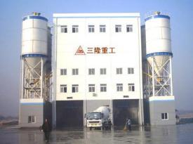 三隆重工HLS90商品混凝土搅拌楼