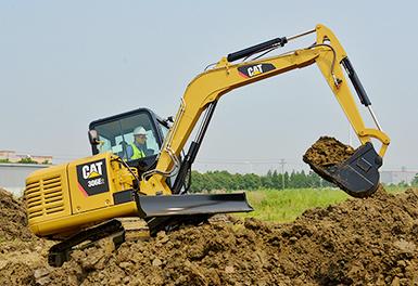 卡特彼勒306E2小型液压挖掘机