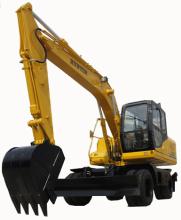 恒特HTL150-9轮式挖掘机高清图 - 外观