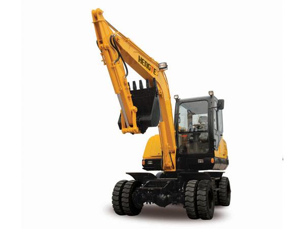 恒特HTL70轮式挖掘机高清图 - 外观