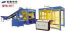 益鑫QT8-15全自动混凝土砌块成型机砖机高清图 - 外观