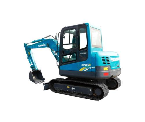 山河智能SWE50E小型挖掘机