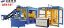 益鑫QT9-15全自动混凝土砌块成型机高清图 - 外观